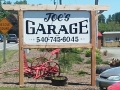 Joe's Garage Sign